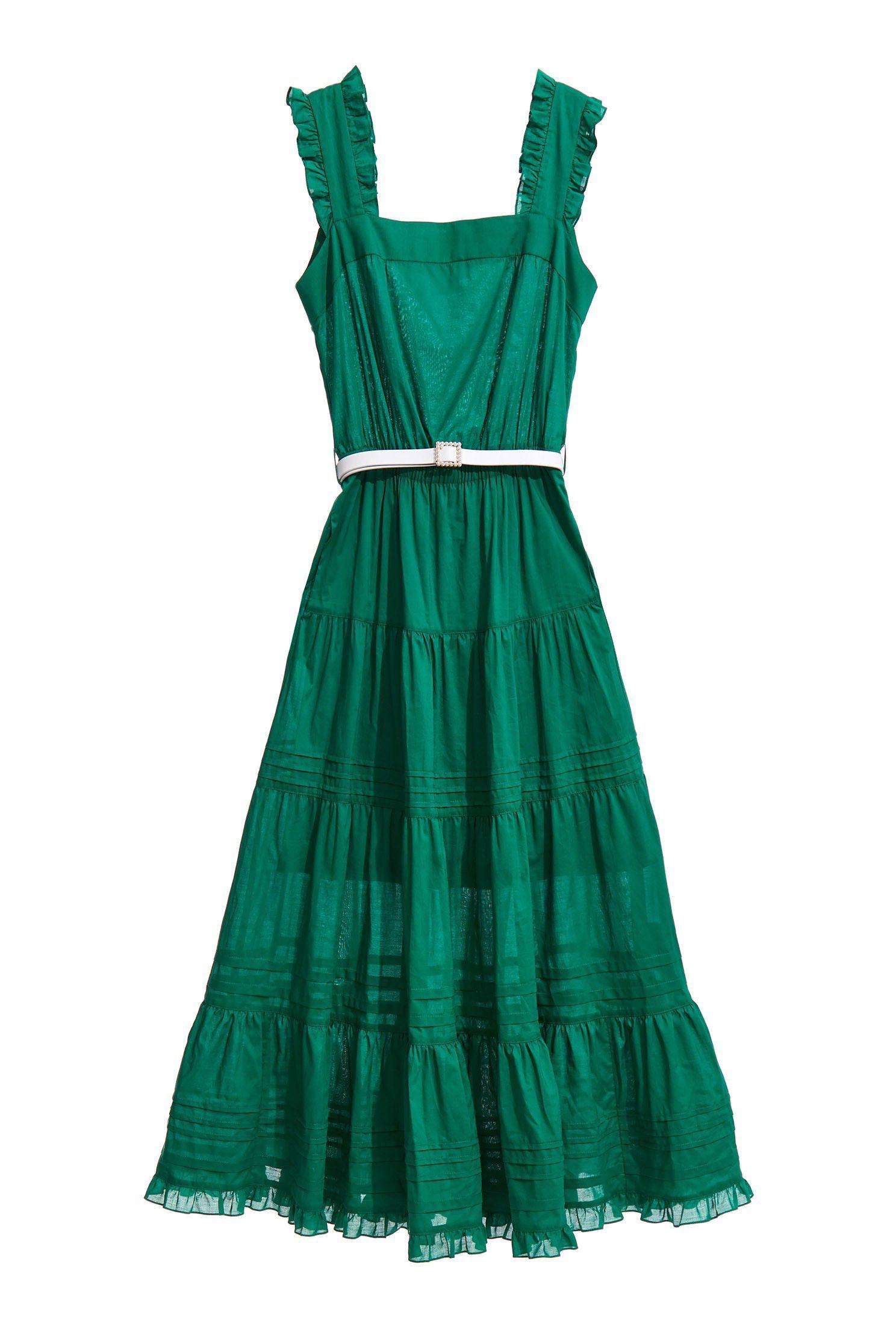 Cotton sense long dress
