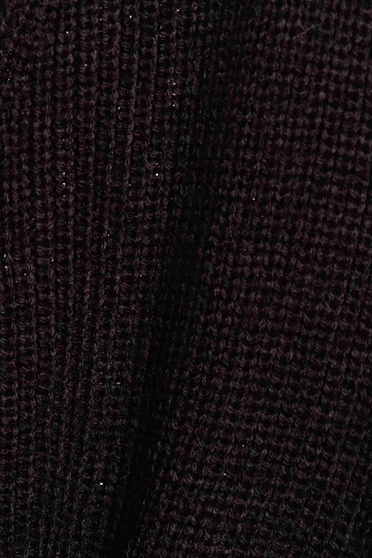 Open-cut strap long-sleeveknit jacket,Outerwear,Season (SS) Look,Season (AW) Look,Knitted,Knitted coats,Long sleeve outerwear,Black outerwear