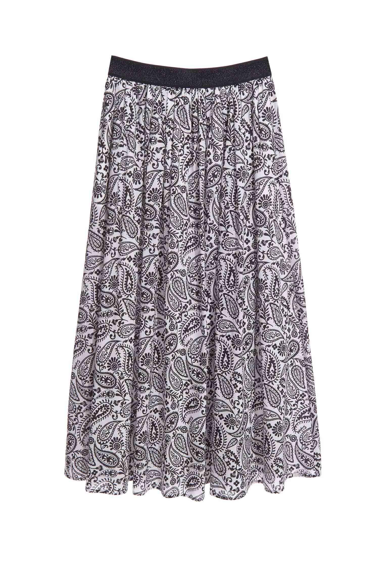 Paramecium floral print long skirt,Season (AW) Look,Midi skirts