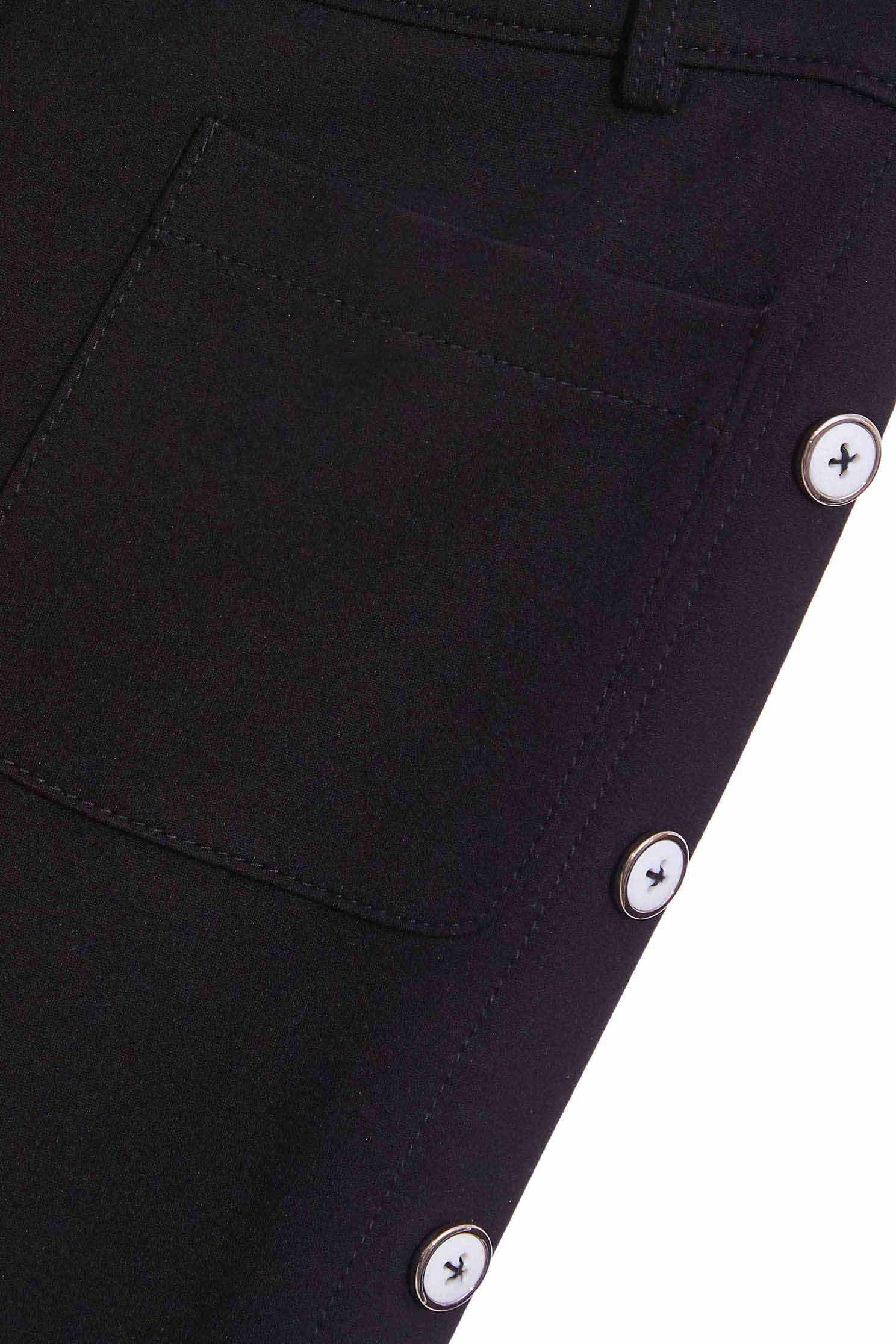 Button-up wide leg-pants,Bell-bottoms,Season (AW) Look,Belts,Bell-bottoms,Pants