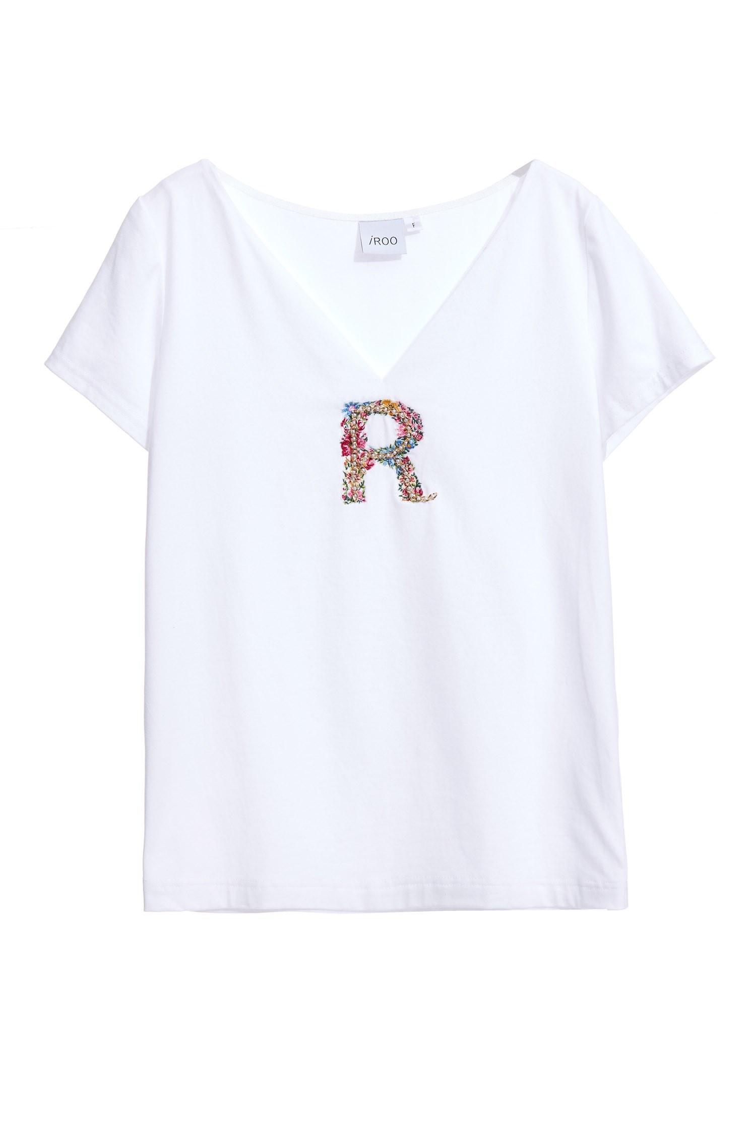 Webbing T-shirt with R,T-shirts,Tops,Season (SS) Look,Pink