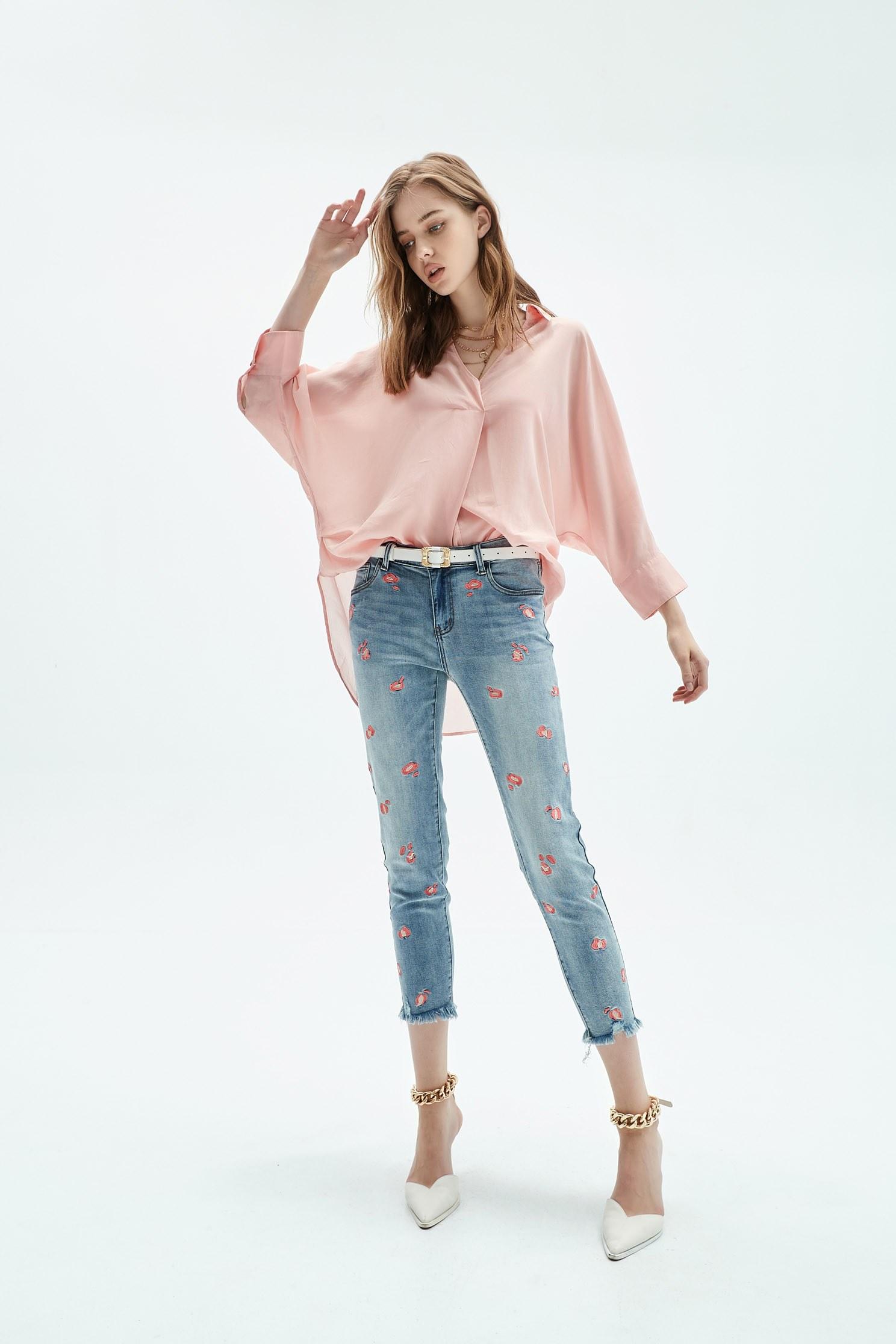 Comfortable peach top,Tops,Season (SS) Look,Blouses