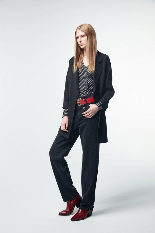 Cotton suit jacket