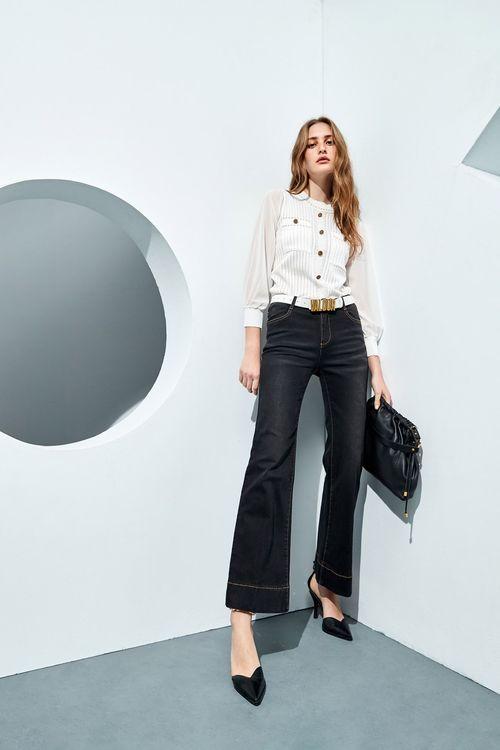 80s vintage flared jeans