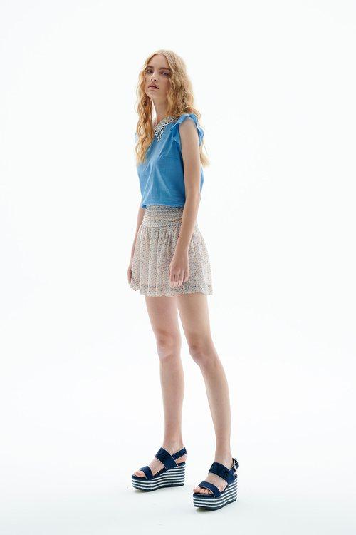Loose shorts skirt