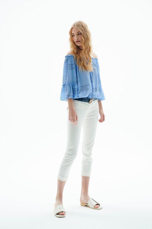 Basic slims trousers